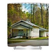 Tip Top Baptist Church Shower Curtain
