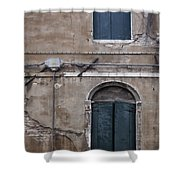 Tired Walls Shower Curtain