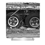 Tires Shower Curtain