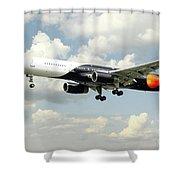 Titan Airways Boeing 757 Shower Curtain