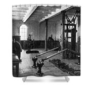 Titanic: Exercise Room, 1912 Shower Curtain by Granger
