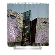 Titanic Museum Belfast. Shower Curtain