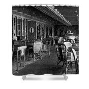 Titanic: Parisian Cafe, 1912 Shower Curtain