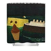 Titanic's Birthday Shower Curtain
