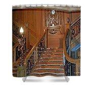 Titanics Grand Staircase Shower Curtain