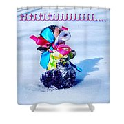 Tititiii Shower Curtain