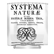 Title Page, Systema Naturae, Carl Shower Curtain