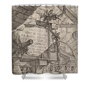 Title Plate Shower Curtain