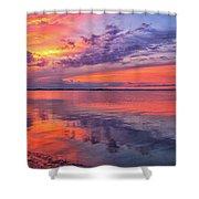 Titusville Sunset Shower Curtain