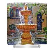 Tlaquepaque Fountain In Sunlight Shower Curtain