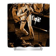 Tn#15a In Amber Shower Curtain
