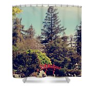 To A Faraway Land Shower Curtain