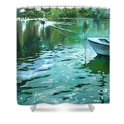 To Anjuna Shower Curtain