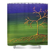 To Become A Seed Again Shower Curtain