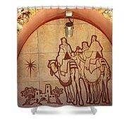 To Bethlehem Shower Curtain