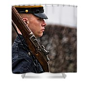 To Guard With Honor Shower Curtain