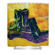 To Par Stoevler 1996 Shower Curtain