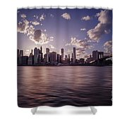 To Reign In Dusk Shower Curtain