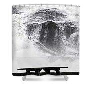 To Replenish Engergy Shower Curtain