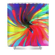 To Spring Up Shower Curtain