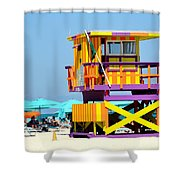 To The Rescue 5 Shower Curtain