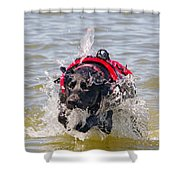 To The Rescue Shower Curtain