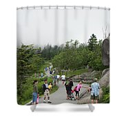 To The Top Shower Curtain