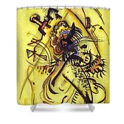 To The Unknown Voice Shower Curtain