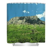 To View A Mountain Shower Curtain