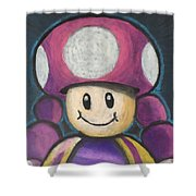 Toadette Shower Curtain