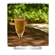 Toast 1 Shower Curtain