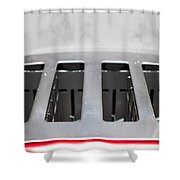 Toaster Shower Curtain