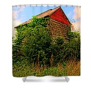Tobacco Barn On A Rise Shower Curtain