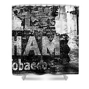 Tobacco Days Shower Curtain
