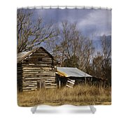Tobacco Road Shower Curtain by Benanne Stiens