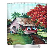 Tobago Country House Shower Curtain