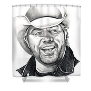 Toby Keith Shower Curtain