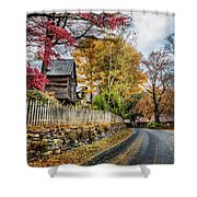Toccoa River Road Shower Curtain