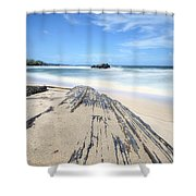 Toco Beach Shower Curtain