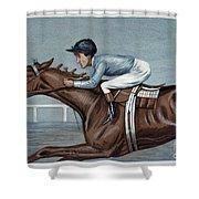 Tod Sloan (1874-1933) Shower Curtain