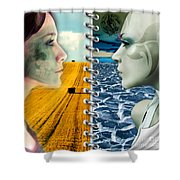Today And Tomorrow Shower Curtain