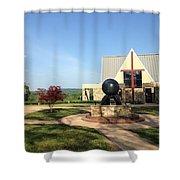 Todd Prayer Chapel Shower Curtain