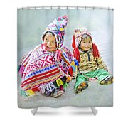 Toddler Dolls Shower Curtain
