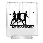 Todg Black Logo Shower Curtain