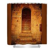 Todi Italy Medieval Door  Shower Curtain