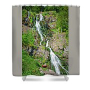 Todtnau Waterfall, Black Forest, Germany Shower Curtain