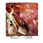 Toe Shoes Shower Curtain