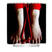 Toe Tied Shower Curtain