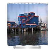 Tofino On The West Coast Of Vancouver Island Shower Curtain