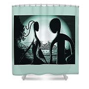 Together Forever 3 Shower Curtain